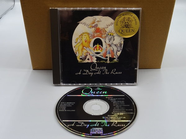 Queen ‎– A Day At The Races CD