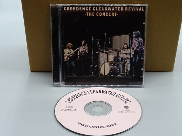 Creedence Clearwater Revival ‎– The Concert CD