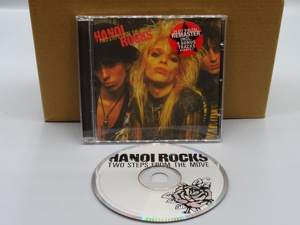 Hanoi Rocks ‎– Two Steps From The Move CD
