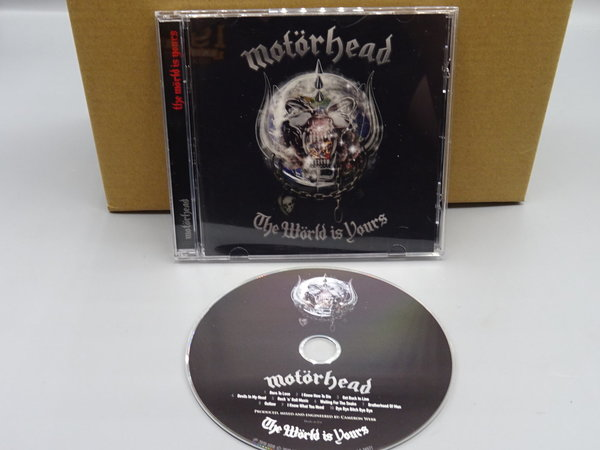 Motörhead – The Wörld Is Yours CD